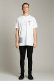 Short Sleeve T-Shirt White Statue