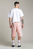 Shorts Cotton Pink FF Side Strip