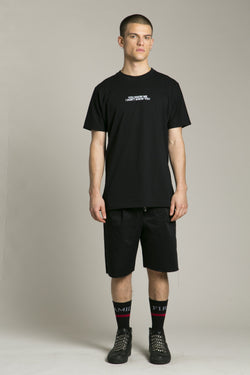 Short Sleeve T-Shirt Black You Know Me