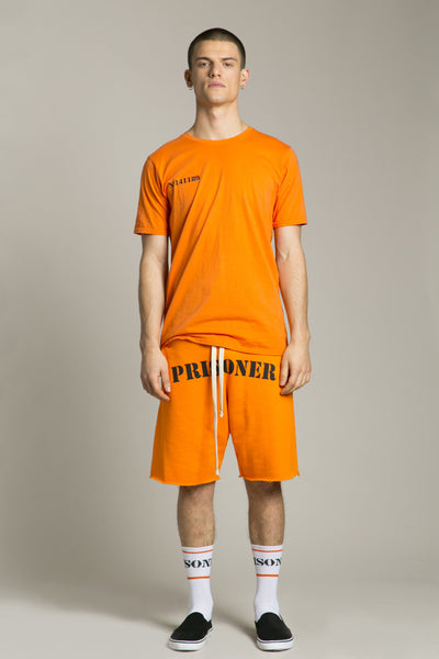 Short Sleeve T-Shirt Prisoner Orange