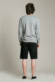 Sweatshirt Collar Grey
