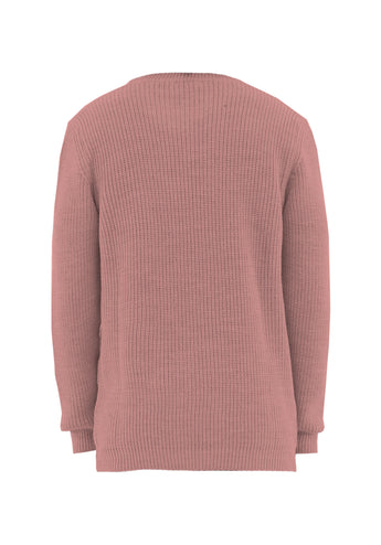 Sweater Over Pink