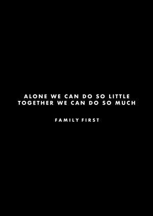 Hoodie Family First x Rise Together Foundation