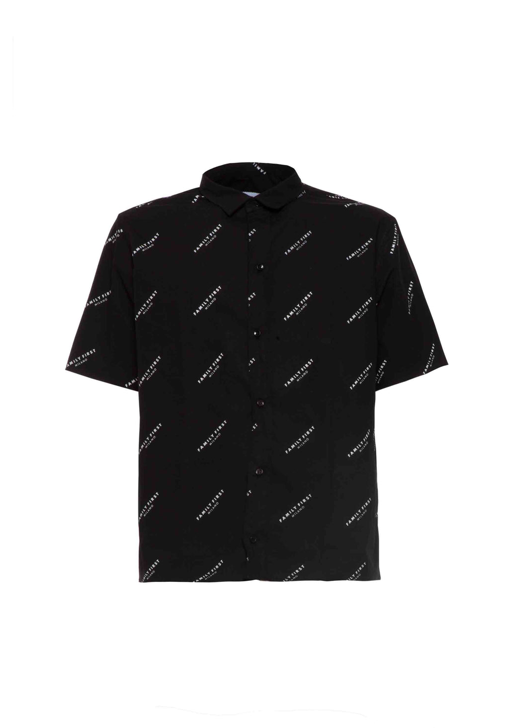 Shirt Pattern Logo Black