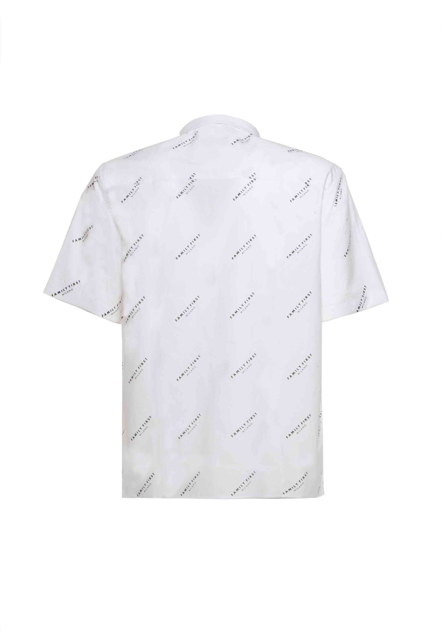 Shirt Pattern Logo White