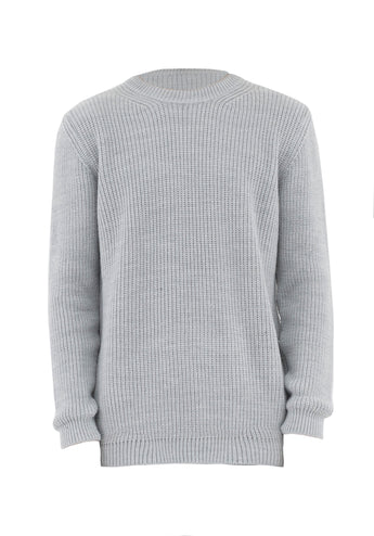 Sweater Over Grey