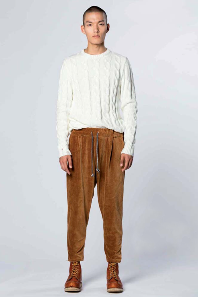 Pants Velvet Brown