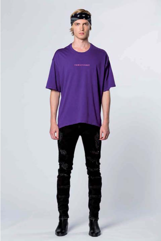 T-shirt Mickey Purple