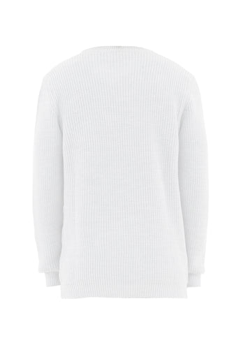 Sweater Over White