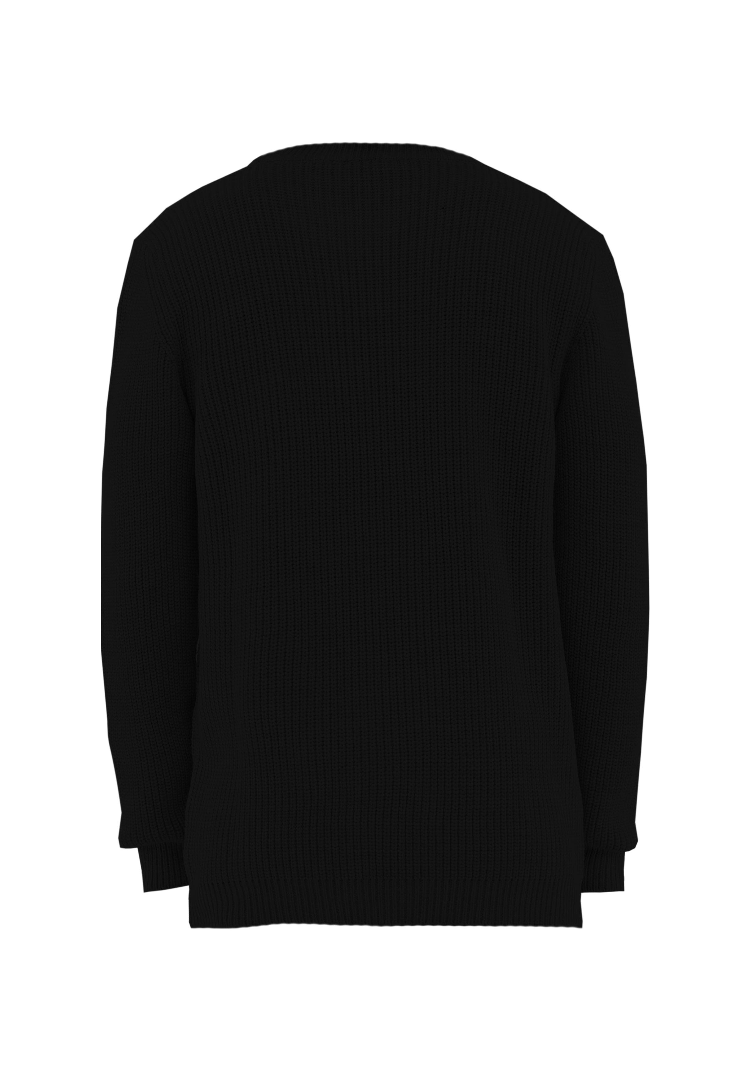 Sweater Over Black