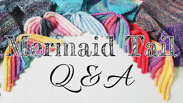 Crochet Mermaid Tail Blanket Pattern information and Q&A