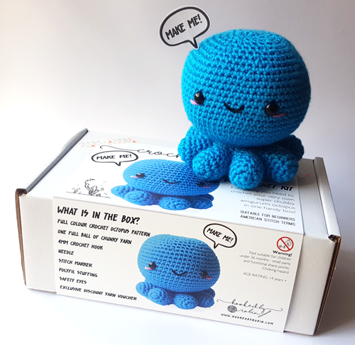 Crochet Octopus Kit