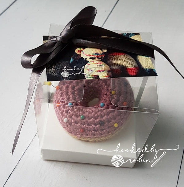 Doughnut Pin Cushion - WHITE OR PINK