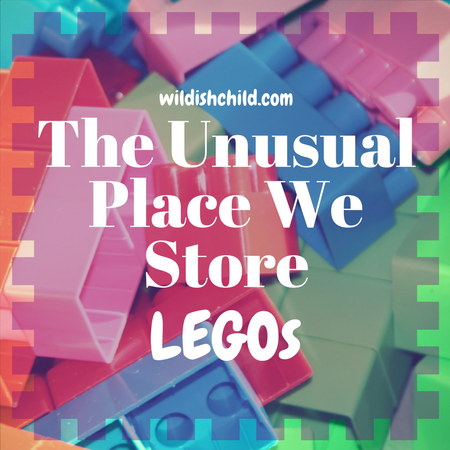 The Unusual Place We Store Legos