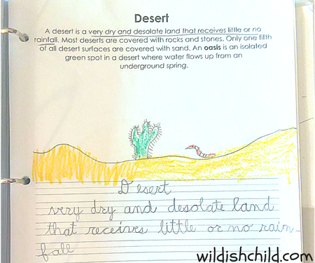 wildish child favorite book friday geography from a to z a picture glossary mama jenn free printable pages example desert