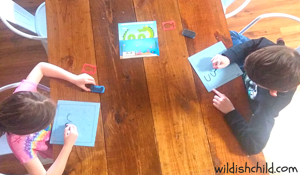 wildish child mind game monday kids playing doodle quest