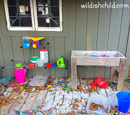 wildish child wacky lab area