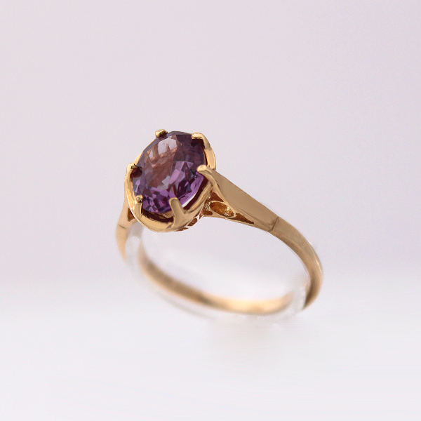 Oval Birthstone Rings - Design by Jesse