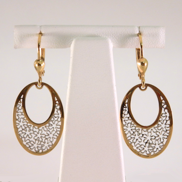 Oval Filigree Dangles - Design by Jesse