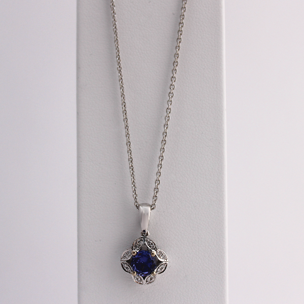 Floral Tanzanite - Design by Jesse