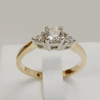 DbJ Trinity Stages Engagement Ring - Design by Jesse