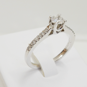 DbJ Fancy Engagement Ring - Design by Jesse