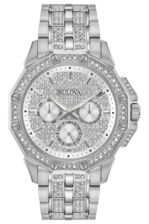 Men's Crystal Watch (96C134) - Design by Jesse