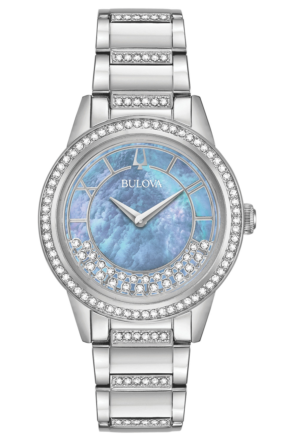 Women's Crystal TurnStyle Watch (96L260)