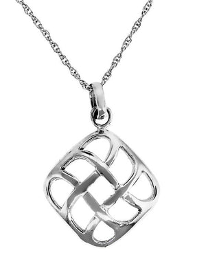 Legend Celtic Square Necklace - Design by Jesse
