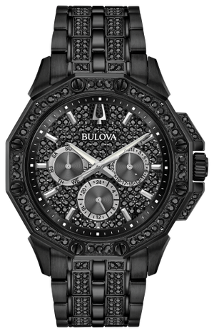 Octava - Men's Crystal Watch Black (98C134)