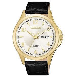 Quartz Day-Date Yellow Gold-Tone