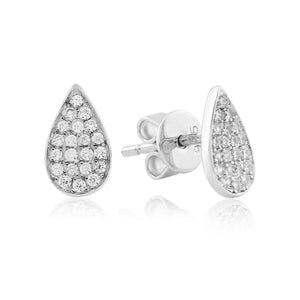 WE210 Waterford Pear Studs