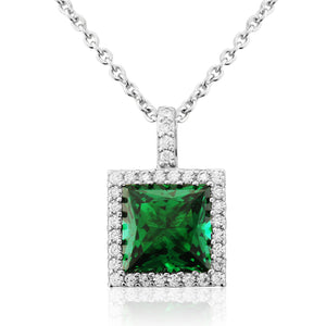 WP192 Waterford Emerald Necklace