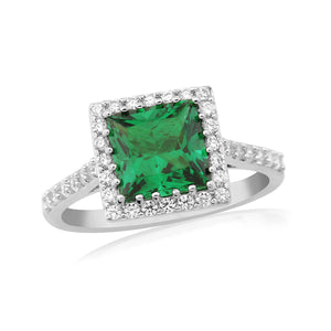 WR194 Waterford Emerald Ring