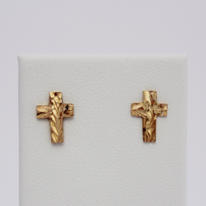 Children's Cross Earrings - Design by Jesse