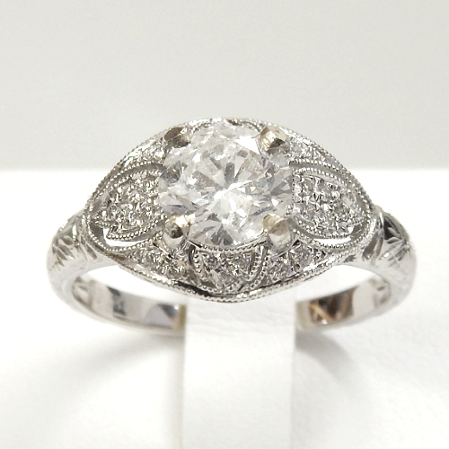 Canadian Diamond Engagement Ring - Design by Jesse