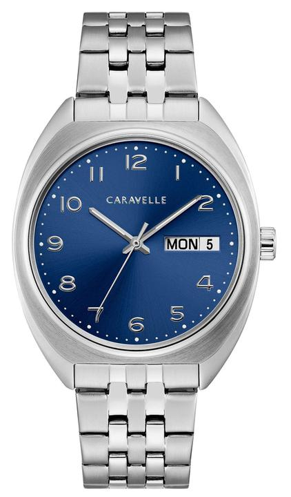 Men's Blue Dial Day and Date (43C120) - Design by Jesse