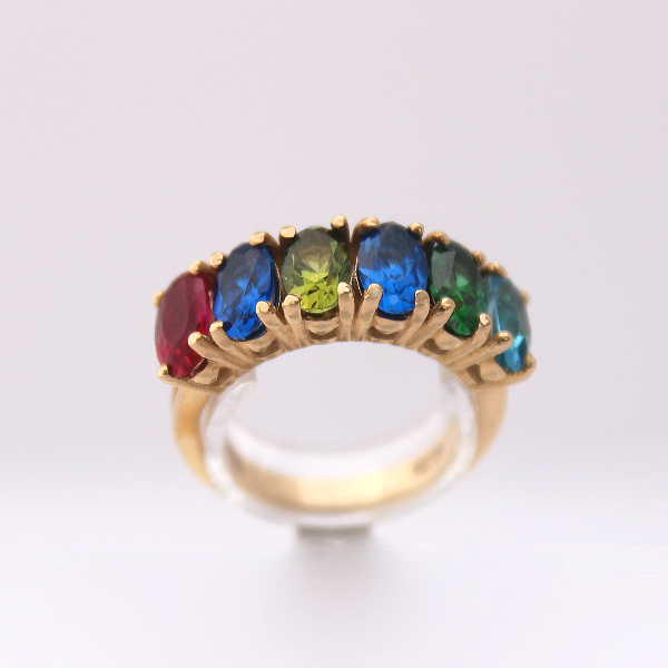 Oval Family Ring - Design by Jesse