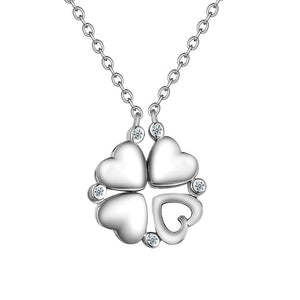 Legend Clover Heart Necklace - Design by Jesse