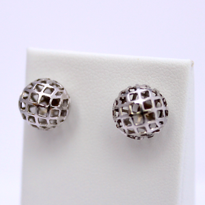 Filigree Ball Studs - Design by Jesse