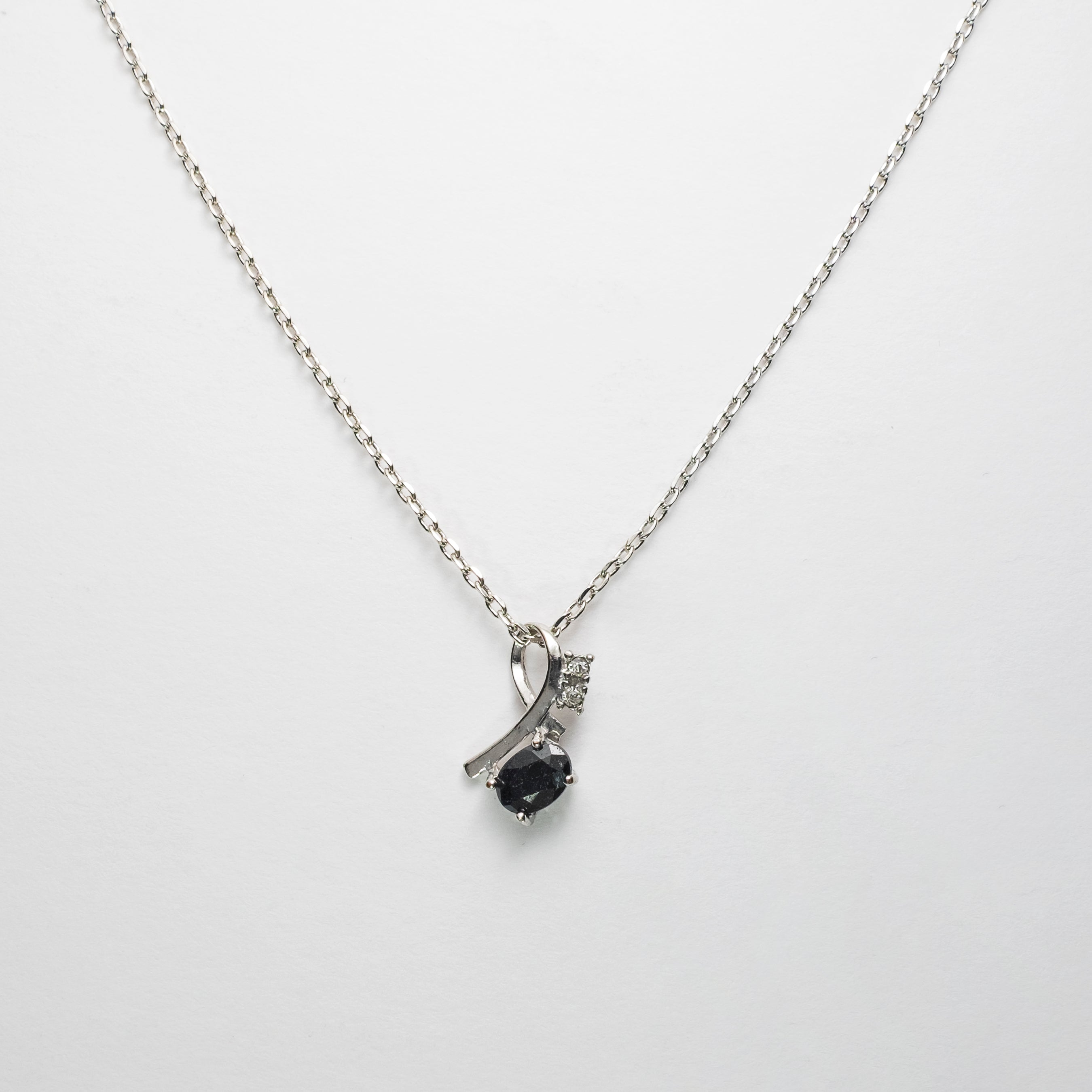 The Saphire Stone Statement Pendant