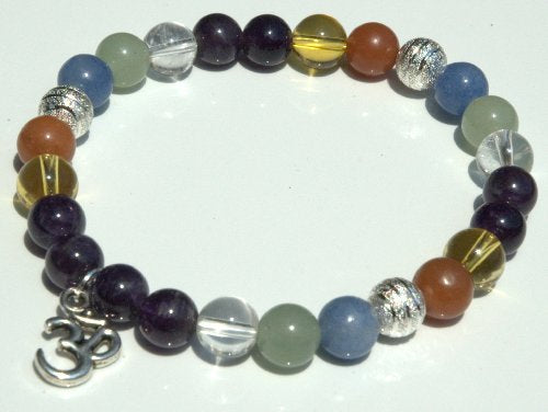 Lucky Stone Crystal Bracelet - Attract Wealth, Money, Luck, and Opportunity.