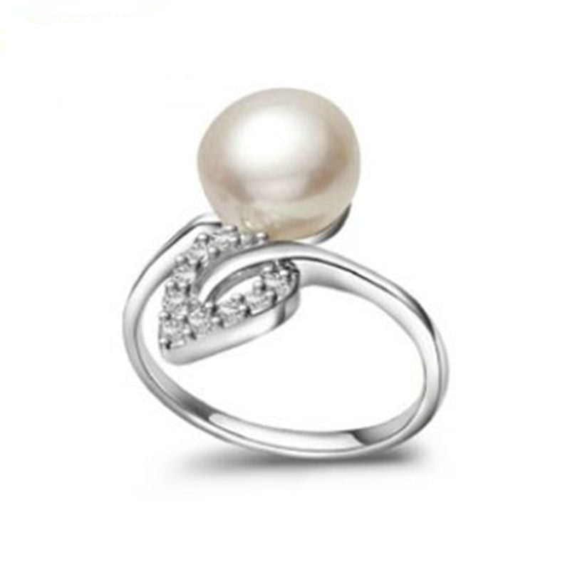 Freshwater Pearl with CZ Accents