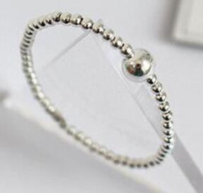 Sterling Silver Bracelet Ball Chain