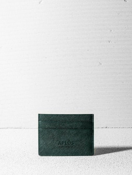 Forest Green Card Holder