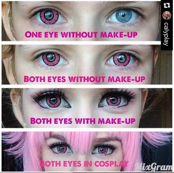 OhMyKitty4u : Review of Twilight Pink lens review by @calyplay