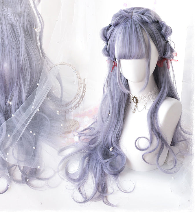 Silver Lavender- Lolita Wig - Ohmykitty Online Store