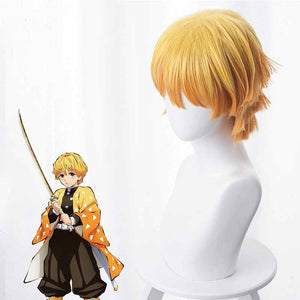 Demon Slayer - Zenitsu Agatsuma- Cosplay Wig