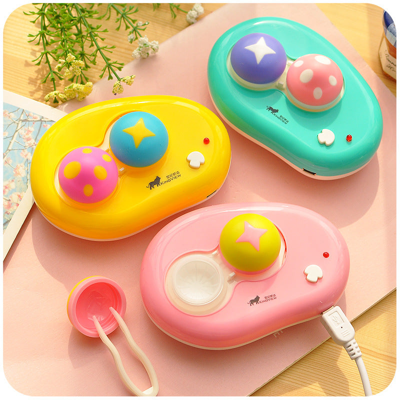 USB Mushroom Auto Cleaner Lens Case - Ohmykitty Online Store