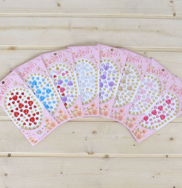 Multipurpose Colorful Rhinestone Stickers